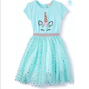 📦SOLD📦GIRLS BTWEEN Sequin Mesh Tutu Dress